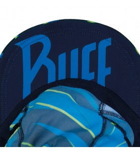 BUFF PRO RUN CAP R-FOCUS BLUE CAPPELLINO ADULTO UNISEX