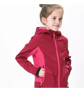 CMP JACKET SOFTSHELL GIACCA ANTIVENTO BAMBINA
