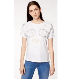 GAS JEANS JOHARI BS CHAINS T-SHIRT DONNA