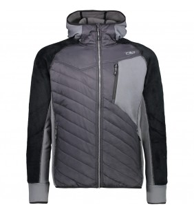 CMP HYBRID JACKET FIX HOOD...