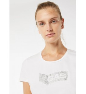 GAS JEANS DOLL STRASS T-SHIRT DONNA